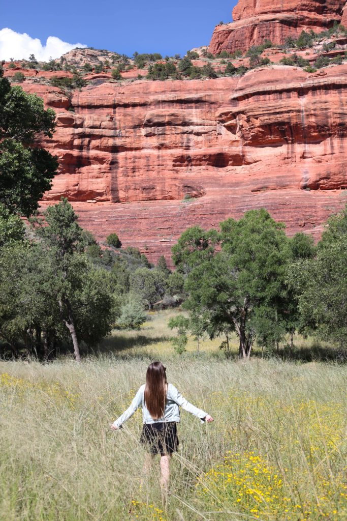 Sedona Red Rocks - Fashion Blogger