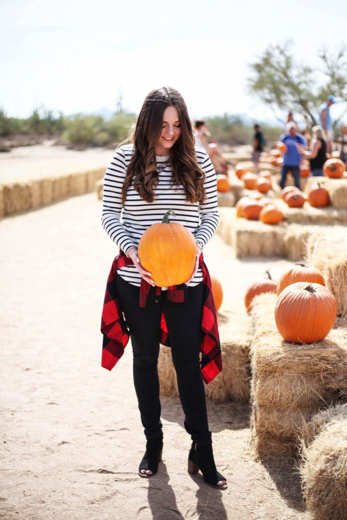 Pumpkin Patch Outfit - The Sweet Sunshine