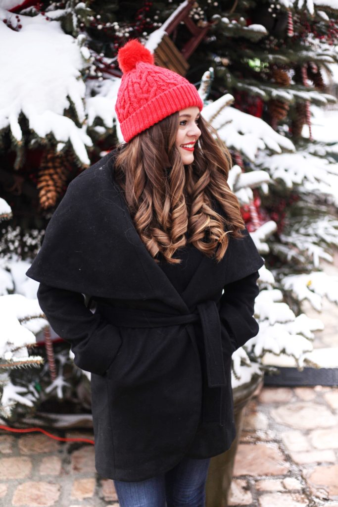 Fashion Blogger - Christmas in Telluride Colorado