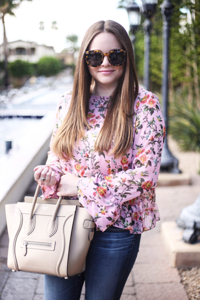 Arizona Blogger - Spring Florals and Ruffles