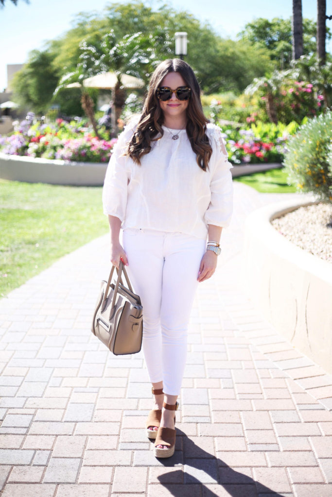 Fashion Blogger - White on White