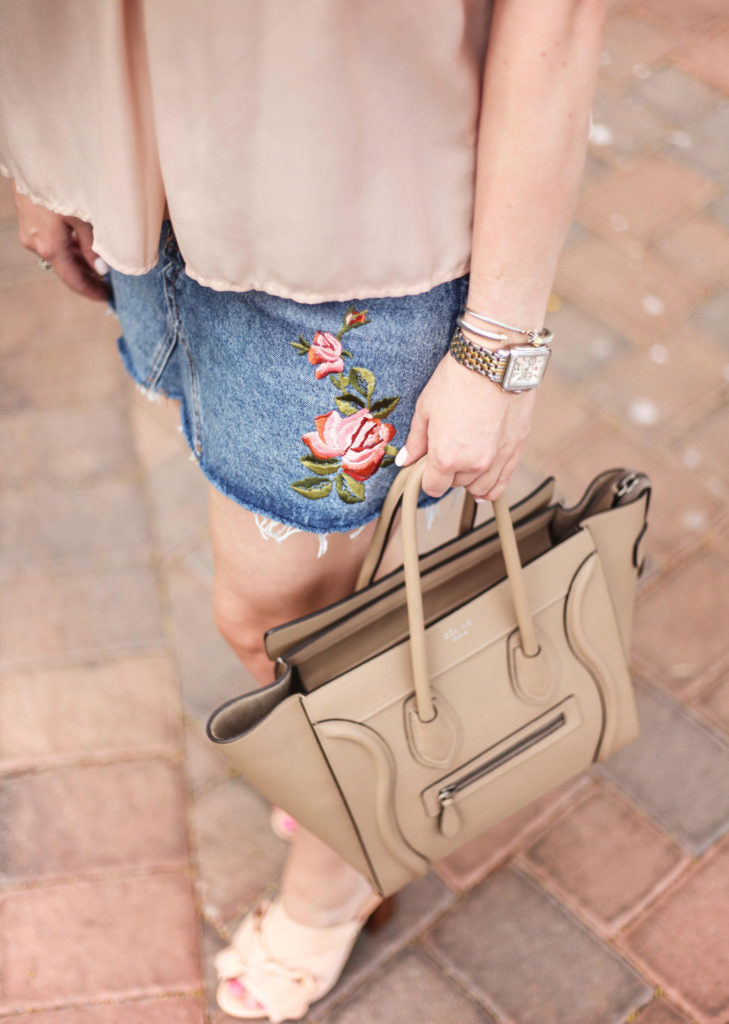 Arizona Fashion Blogger - Topshop Denim Skirt