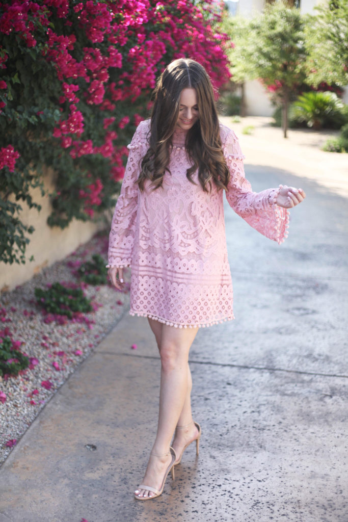 Fashion Blog - Shein Pink Dress
