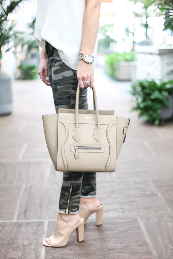 Fashion Blogger - Denim and Camo