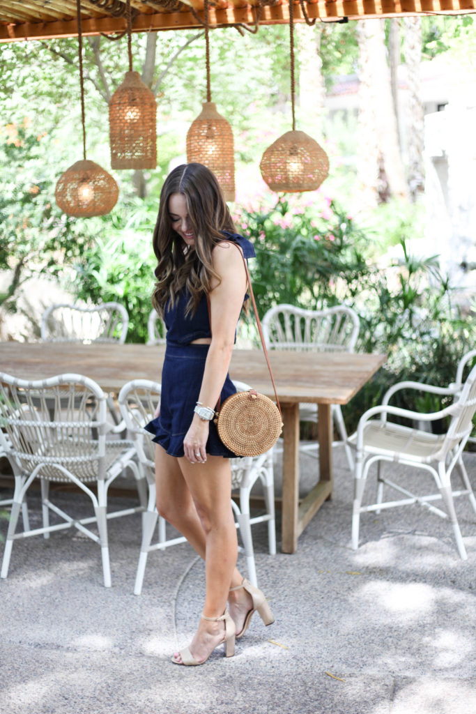 Arizona Blogger - Denim Romper